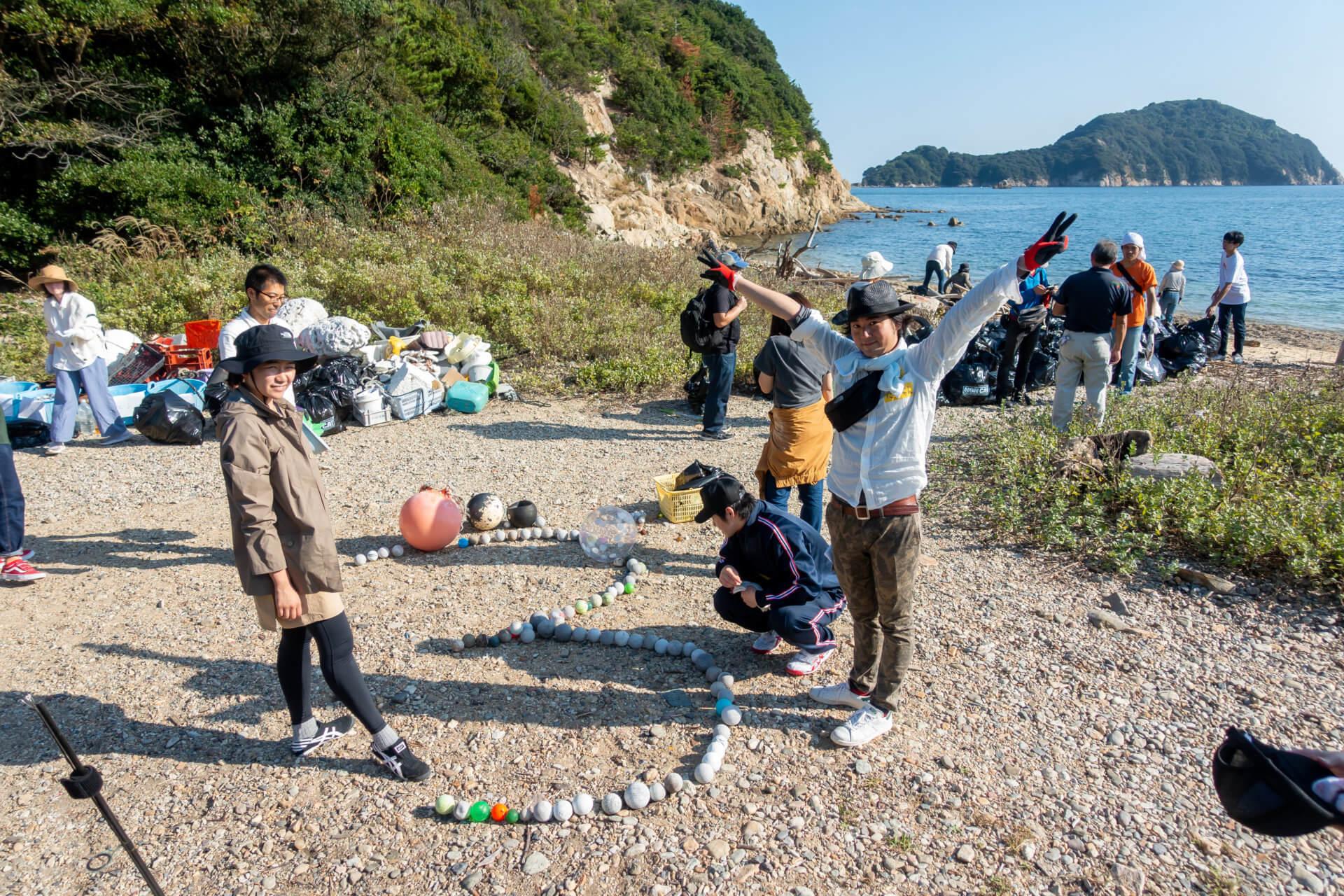 2019無人島ごみひろい